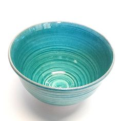 Japanese Chawan Matcha Bowl Kyoto Ware Geogeous aqua blue * Learn more by visiting the image link.