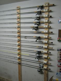 Ceiling Mounted Rod Holder