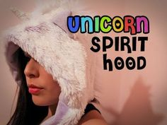 Quakes Unicorn spirit hood! let this video help you out and make a Spirit Hood