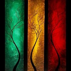 Hand Painted Canvas Painting, Tree Painting Acrylic, Abstract Painting Acrylic, Tree Painting Acrylic Wall Art, Abstract Wall Art, Abstract Landscape, Painting Abstract, Landscape Paintings, Moon Painting, Hand Painting Art, Canvas Paintings For Sale, Tree Paintings