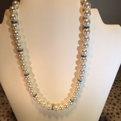 This necklace is perfect for bridesmaids! Crystal color can be changed to match wedding colors...beautiful bridal necklace as well! Choose your color and length! A great gift for the bride to give her bridesmaids! FREE set of coordinating ear wires!