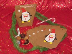 Adventskalender Pinguin http://de.dawanda.com/shop/avalonproject2