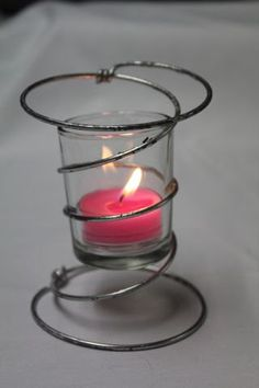 Bed Spring Candle Holder Wedding decoration on Etsy, $7.00