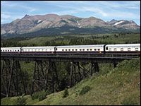 Ride the American Orient Express through the National Parks of the West.