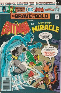 Brave & the Bold Vol. 22 No. 128  1976  Batman and by TheSamAntics