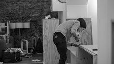 Day #5 Diana Cilan - conception et réalisation du mobilier