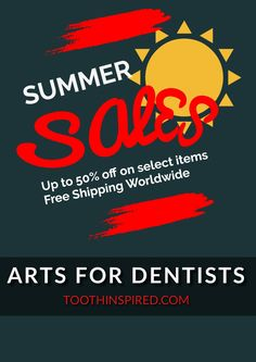 Grab best deals & discount on Dental Prints, Accessories, Dental Clocks and other Dental products at Toothinspired.com
