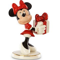 LENOX Mickey and Friends: Disney - Disney's Wrapped with Love by Minnie Figurine