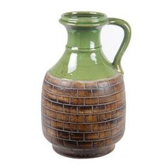 Privilege Large Ceramic Vase with Handle | Overstock.com Shopping - Great Deals on Privilege Vases