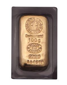 100g Gold Bullion Bar