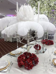 Great Gatsby-inspired tablescape
