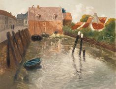 catonhottinroof:  Frits Thaulow (1847-1906)   Lavvann