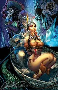 Indian Princess (J. Scott Campbell)