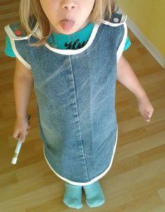 Pippi-Kleid aus Jeans