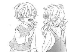 te wo tsunagou yo manga boy cute and girl chidhood freind blush flower Boy And Girl Best Friends, Anime Best Friends, Friend Anime, Girl Friends Manga, Manga Girl, Manga Anime, Boy And Girl Drawing, Manga Cute, Drawings Of Friends