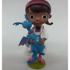 Birthday Cake Topper Dr Mcstuffins with Stuffy  Conf12902 by RUSTIKOcakeDecoratio on Etsy