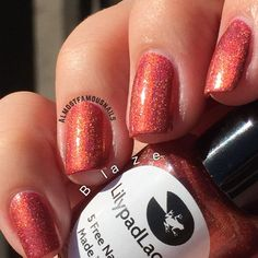 Lilypad Lacquer Blaze from the March 2015 restock. Bought from LPL Australia in March 2015. $13