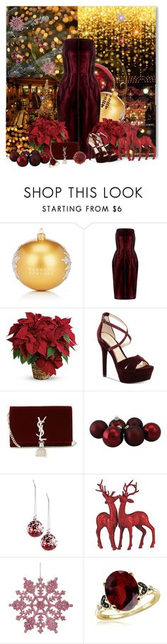 """Christmas Lights"" by kimzarad1 ❤ liked on Polyvore featuring Nicole, Barneys New York, Tom Ford, Jessica Simpson, Yves Saint Laurent and Jewelonfire"
