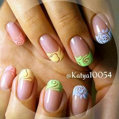 26 Trendy french manicure tips ongles Beautiful Nail Art, Gorgeous Nails, Pretty Nails, Hot Nails, Pink Nails, Nail Polish Designs, Nail Art Designs, Feather Nails, Geometric Nail