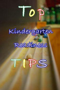 17 Tips for Kindergarten Readiness