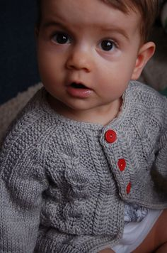 To go with the Silverfox bonnet! SUCH an adorable cardi! Ravelry: Silverfox pattern by Lisa Chemery