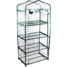 Genesis 1.58-ft L x 2.25-ft W x 4.33-ft H Pop-Up Greenhouse in the Greenhouses department at Lowes.com Walk In Greenhouse, Cheap Greenhouse, Portable Greenhouse, Indoor Greenhouse, Greenhouse Ideas, Greenhouse Shelves, Greenhouse Gardening, Pallet Greenhouse, Indoor Gardening