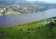 Flotilha de Mato Grosso na defesa da fronteira oeste do Brasil.