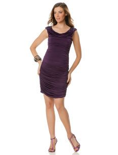 A Pea in the Pod JS BOUTIQUE Sleeveless Embellished Maternity Dress
