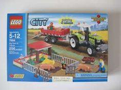 Lego City Pig Farm & Tractor 7684 MNIB A ++