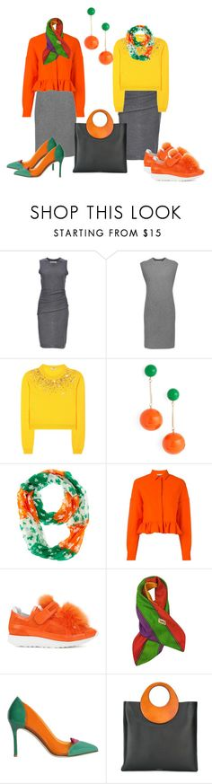 """СТИЛИСТ  по одежде"" by dvo777 ❤ liked on Polyvore featuring Susana Monaco, Alexander Wang, Miu Miu, J.W. Anderson, MSGM, Pierre Hardy, Yves Saint Laurent, Giannico and Michael Kors"