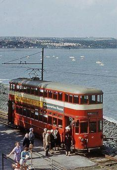 Swansea & Mumbles Car Wales / by Wales Uk, South Wales, Swansea Wales, Trains, Gower Peninsula, Tramway, Bonde, Light Rail, Cars