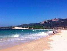 Playa de Bolonia en Tarifa, Andalucía