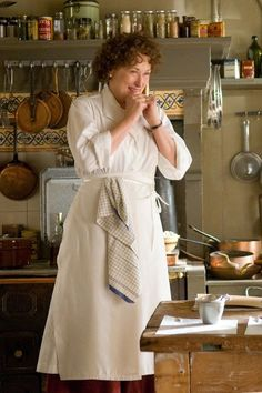 Meryl Streep as Julia Child in Julie and Julia - who could help but be charmed?