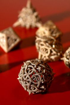 Metal Dice I would be so completely content with life if I had these omg