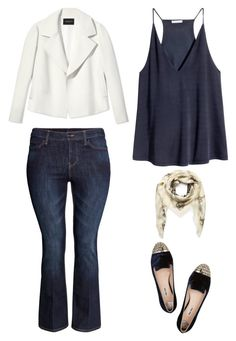"""""""Outfit Idea by Polyvore Remix"""" by polyvore-remix ❤ liked on Polyvore featuring Alexander McQueen, Lafayette 148 New York, H&M and Miu Miu"""