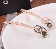 CZ diamond hair clip