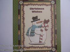 vixenvarg: Folky Snowman