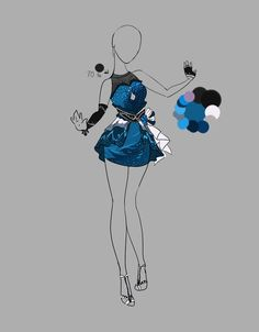 deviantART Dress Design Outfit | Outfit Adopt 8(CLOSED)::. by Scarlett-Knight on DeviantArt