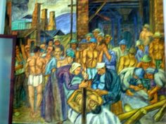 Pedro Nel Gómez . El minero muerto (1936)