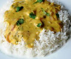 Honey, What's Cooking?: Punjabi Kadhi (Punjabi Yellow Curry made with Chickpea Flour and Yogurt)
