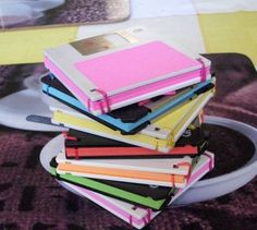Notebook From Old Floppy Disks