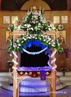 Orthodox Easter, Christmas Tree, Holiday Decor, Flowers, Crafts, Home Decor, Art, Altars, Teal Christmas Tree