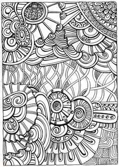 Creative Haven Entangled Coloring Book, Dover Publications