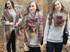 3 Ways To Tie A Blanket Scarf