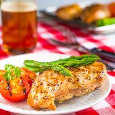 Chicken Breast Stuffed with Artichoke Pesto (Artichoke Hearts, Parsley, Basil, Walnuts, Garlic, Lemon, Parmesan, Goat Cheese)