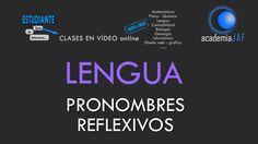 Los pronombres reflexivos - Lengua Española análisis morfológico - acade...