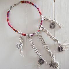 Macrame choker/ Crochet Necklace/ Choker/ boho by OwnStudiobyEfrat