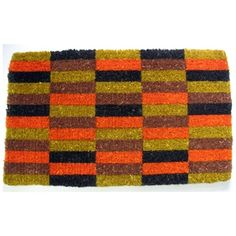 I can't believe I'm pinning a doormat, but I love this Moquette pattern! #geek