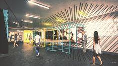 Pop-ups to take over London Underground network - Old Street underground