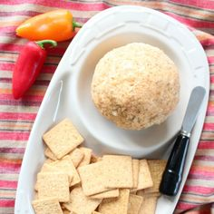 Easy Buffalo Cheese Ball Recipe, Perfect for football parties!